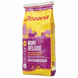 6,10€ /kg  JOSERA MiniDeluxe Für kleine Feinschmecker 900gr getreidefrei