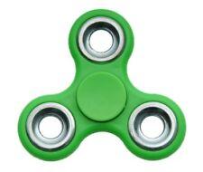 Fidget Spinner   Low-cost - Stainless Steel Bearings - Green 211419