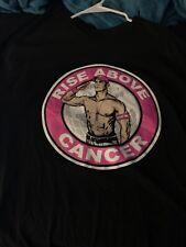 "WWF WWE John Cena ""Rise Above Cancer"" T-Shirt Used Size Large Susan G. Komen"