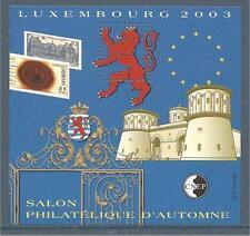 BLOC CNEP N°39 - Luxembourg 2003 - Salon d'Automne