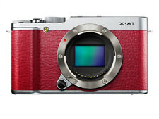 Fujifilm X series X-A1 16.3MP Digitalkamera - Rot (Nur Gehäuse)