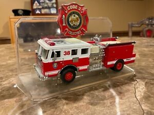 Code 3 Collectibles Seagrave Fire Truck Model 1:64 Scale