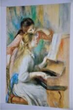 Carte Postale - Postcard - Tableau Auguste RENOIR - Jeunes Filles au Piano 1892