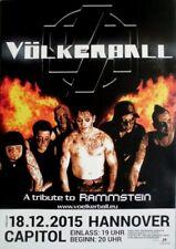 VÖLKERBALL - 2015 - Konzertplakat - Tribute to Rammstein - Poster - Hannover