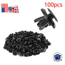 100pcs Fender Liner Fastener Rivet Push Clip Retainer For Toyota RAV4 Sienna
