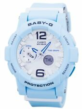 Casio Baby-G Shock Resistant Tide Graph Analog Digital BGA-180BE-2B Womens Watch