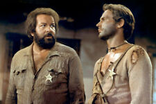 Terence Hill and Bud Spencer They Call Me Trinity comedy western 18x24 Poster