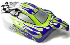06027 66002 Off Road Nitro RC 1/10 Buggy Body Shell Vert V2 Coupé