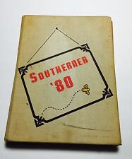 1980 South Rowan High School Yearbook Annual  China Grove North Carolina
