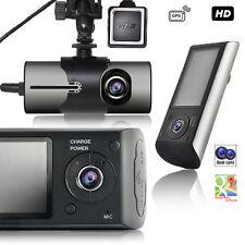 "Indigi HD Dashboard Camera 2.7"" LCD + 2 Wide Angle Lens + GPS Tracker + G-Sensor"