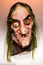 Mask Sea Hag Witch Full Over The Head Latex Mask W/ Hair Halloween Disguise