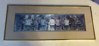 BOB HOLLOWAY LIMITED EDITION PRINT THE LAST SUPPER SIGNED 491/900