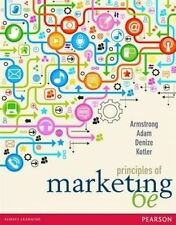 Principles of Marketing by Sara Denize, Gary Armstrong, Stewart Adam, Philip...
