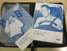 FORD FOCUS  OWNERS MANUAL OWNERS HANDBOOK 2004-2008  INC Audio AND  WALLET