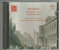 Brahms; Symphony No. 1, Tragic Overture  Philharmonia Cassovia, Mario Klemens