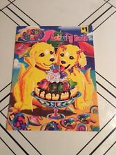 Lisa Frank Puppies with Ice Cream Activity Book Over 30 Stickers Unicorn Horse