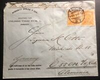 1903 Mexico City Mexico Commercial cover To Essen Germany