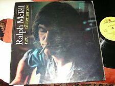 RALPH McTELL / Tony Visconti -  Not Till Tomorrow,  ORIG 1972 UK LP....NICE COPY
