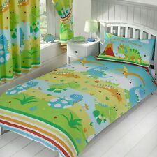 'brüllen wie ein Dinosaurier' Einzelbettbezug Set NEU Kinder Bettwäsche Doona