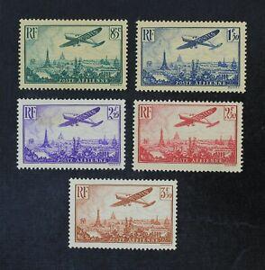 CKStamps: France Stamps Collection Scott#C8/C13 Mint H OG