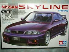 Tamiya 1/24 Nissan Skyline GT-R V. Spec Model Car Kit #24145