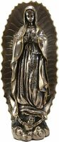 "19""H Large Catholic Blessed Virgin Mother Mary Our Lady of Guadalupe Statue"