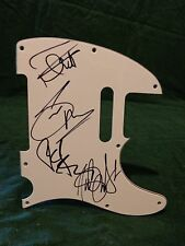 Iron Maiden Signed Autographed Pickguard C