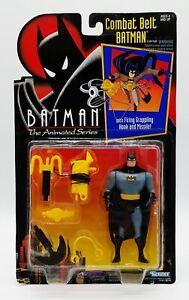 "Batman The Animated Series Combat Belt Batman 3.75"" Action Figure 1992 Kenner"