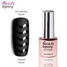 Superior Capa Esmalte de Uñas Nail Arte Transparente Pintauñas Gel UV Decoración