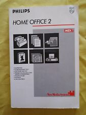 Book msx2 Home Office 2 new media systems Philips retrocomputer Vintage Manual