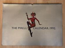 CALENDARIO PIRELLI 1992