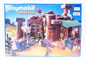 Playmobil 5246 Goldmine mit Sprengkiste Western Pirat Cowboy Gefangener Gold S97
