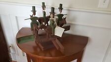 Ted & Barbara Alfred Horse & Riders Folk Art Whirligig Signed Dated Number 18/25