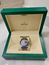 Black Bezel Steel Watch 116710 blnr Rolex Gmt Master Ii Batman Blue