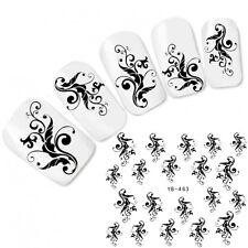 Nagel Sticker Nail Art Ornamente Fuß Ornaments Aufkleber Water Decal