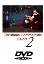 CHRISTMAS COMMERCIALS GALORE Volume 2  90 Minutes Vintage 80's Holiday Spots DVD
