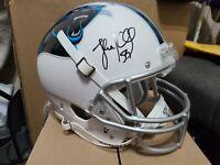 Luke Kuechly Autographed Carolina Panthers  NFL Helmet full size replica JSA COA