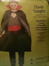 Classic Vampire Boys or Girls Size Medium 8 Halloween Costume New