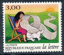 STAMP / TIMBRE FRANCE NEUF N° 3065 ** LES JOURNEES DE LA LETTRE / LA LECTURE