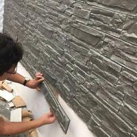 Foam Brick 3d Wall Sticker Waterproof Living Room Background Adhesive Wallpaper