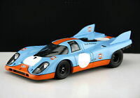 1/18 Scale PORSCHE GULF 917 KH Coupe 1970 DieCast Car Model Toy Collection Gift