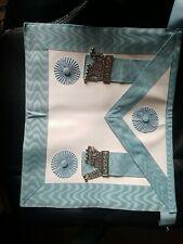 More details for masonic master apron, freemason , master mason