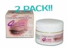 2 PACK! PROSA 4en1 Crema para contorno de ojos eye contouring cream lotion 15g.