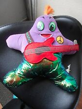 """LWT STAR SHAPED DOLL WITH GUITAR PLUSH 12"""" TALL VGC CUTE"""