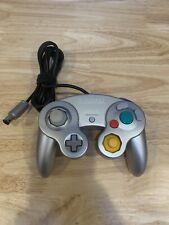 Official Genuine OEM DOL-003 Nintendo GameCube Controller Platinum Silver