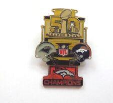 Denver Broncos Super Bowl 50 Medium Pin, Peter David Style by Wincraft