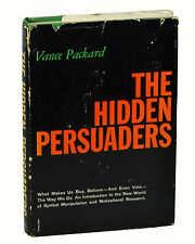 THE HIDDEN PERSUADERS by Vance Packard ~ First Edition 1957 ~ Advertising 1st