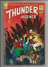 THUNDER AGENTS  #11 VG+ VERY GOOD+ WHITE PAGES SILVER AGE TOWER COMIC 1967