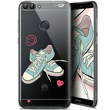 """Coque Gel Huawei P Smart (5.7"""") Extra Fine - Mes Sneakers d'Amour"""