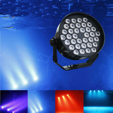 72W 36PCS LED RGB Stage Lights 6CH DMX Par Disco Party Pub DJ Light US